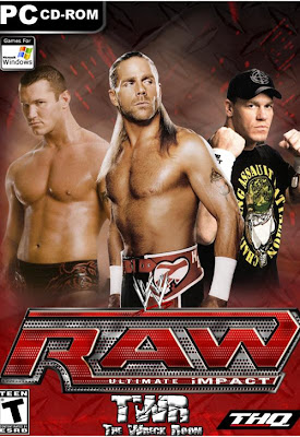 WWE RAW Ultimate Impact 2012 PC Cover
