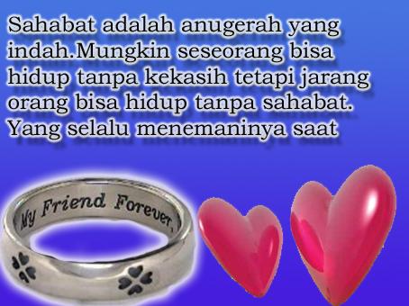 Kekasih,.. Sahabat,.. & Cinta,..