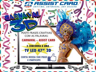 """Concurso Cultural """"Meu carnaval em 3D"""""""