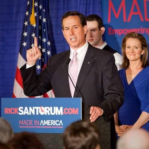 I Support Rick Santorum