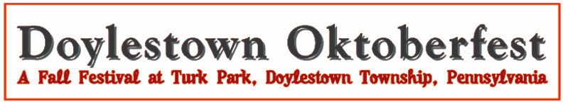 Doylestown Oktoberfest at Turk Park