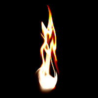 cara membuat efek api dengan Photoshop CS3