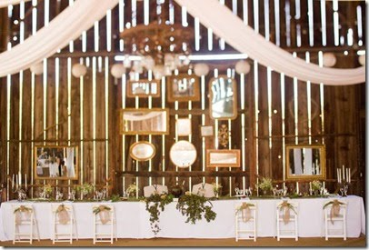 Vintage Wedding Reception Decorations