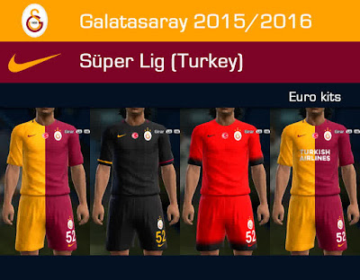 PES 2013 Galatasaray 2015/2016 GDB update by Dark Shimy