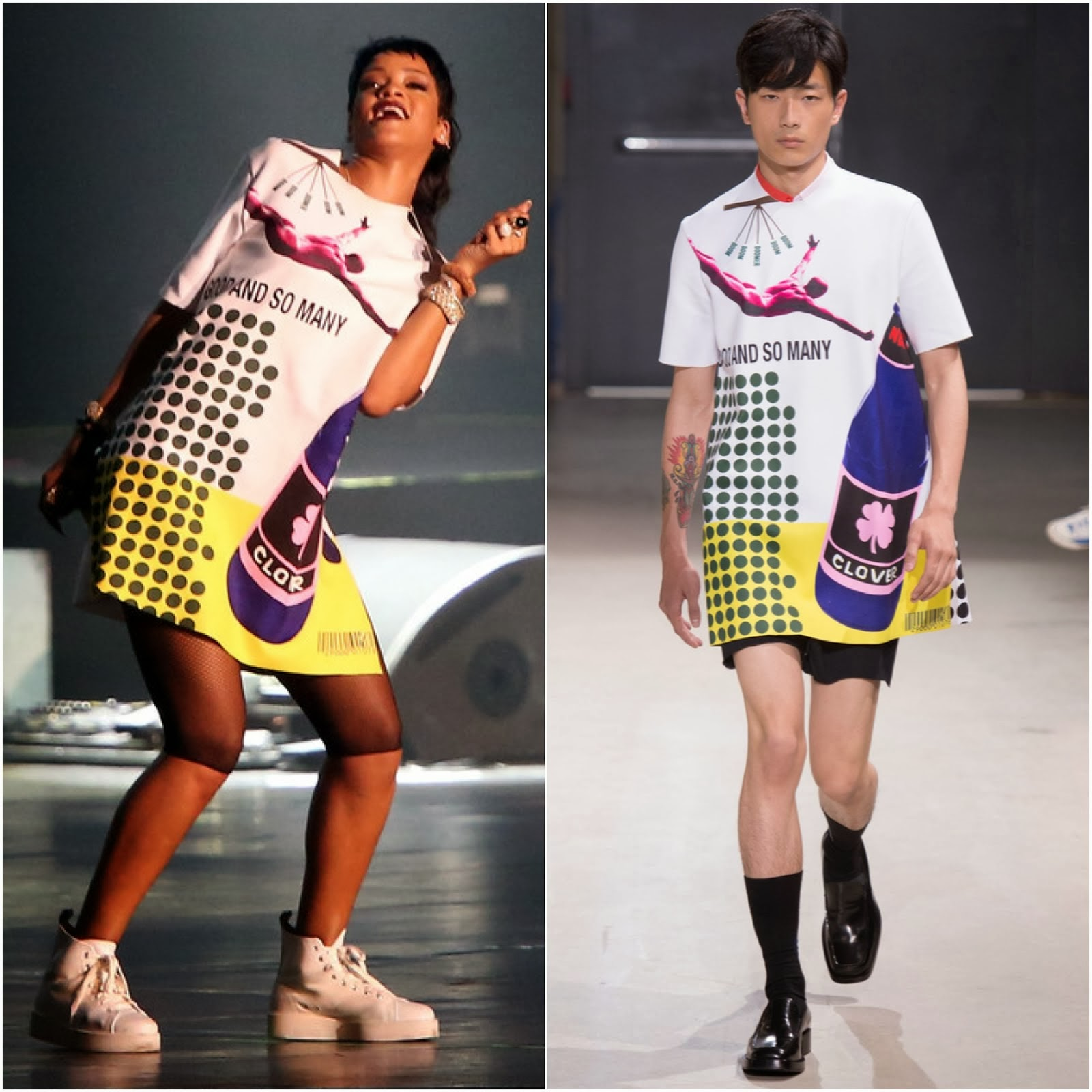 00O00 Menswear Blog Rihanna in Raf Simons - Singapore F1 Grand Prix 2013