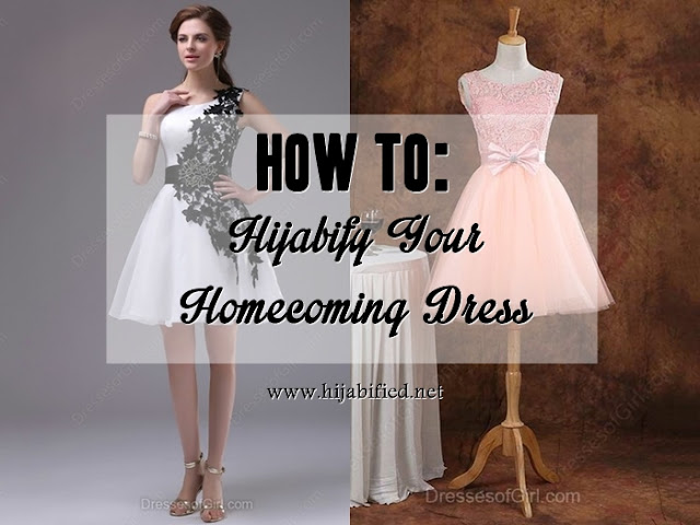 How To: Hijabify Your Homecoming Dress