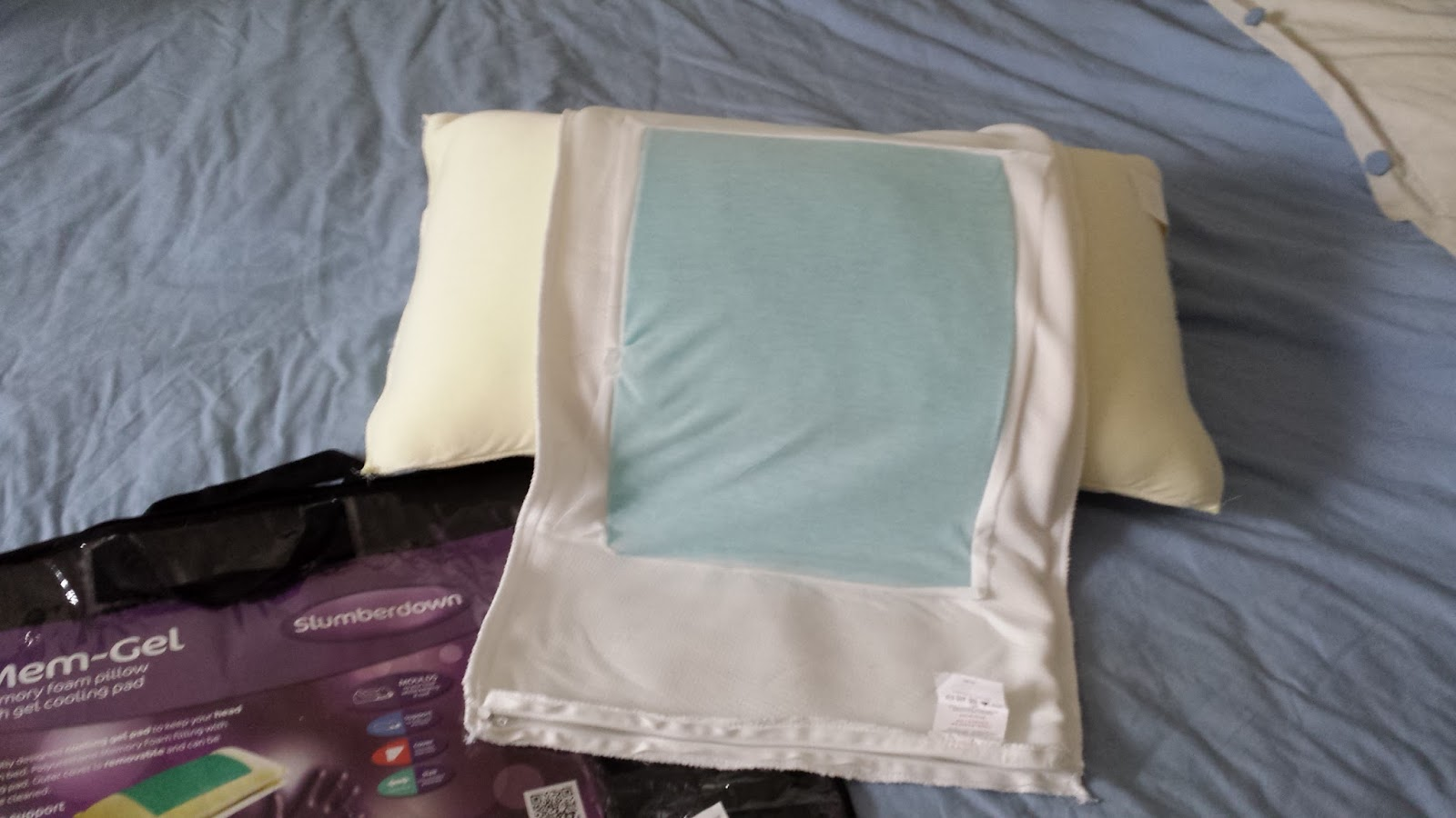 Slumberdown Traditional Memory Foam Pillow Review : Its a London Bird Thing!: Chill Out with Mem-Gel Slumberdown Pillow Review