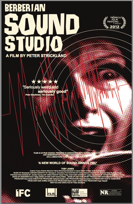 Berberian Sound Studio, giallo, Peter Strickland, Toby jones
