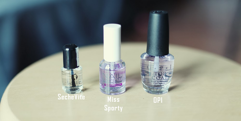 recenzja top coat seche vite miss sporty opi blog lifestyle moniusza