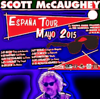Gira por España de SCOTT McCAUGHEY - Mayo 2015