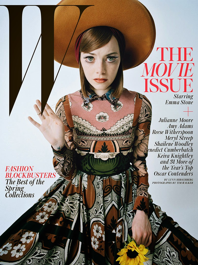 Emma Stone in 'Best Performances' by Tim Walker for W | Ses Rêveries