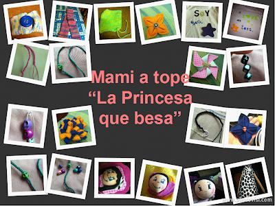 """creaciones de """"La Princesa que besa"""""""