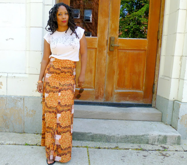 african wax print dress skirt