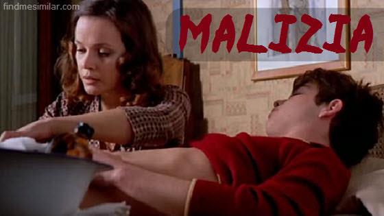 Laura Antonelli in Malizia aka Malicious an 1973 erotic comedy