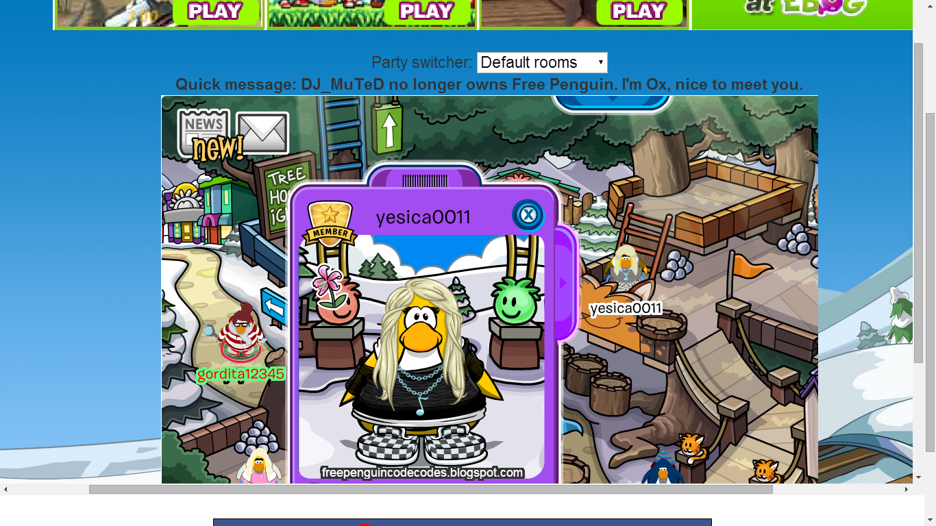 free pinguin