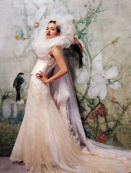 Fashion bride rococo style wedding dress is coming for Baroque fashion design
