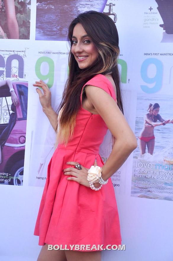 , Anousha Dandekar In Red Hot Dress - April 2012