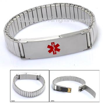 Medical Alert Bracelet Usb8