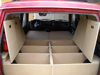 SUV 4x4 camper, sleeping plattform, overlanding