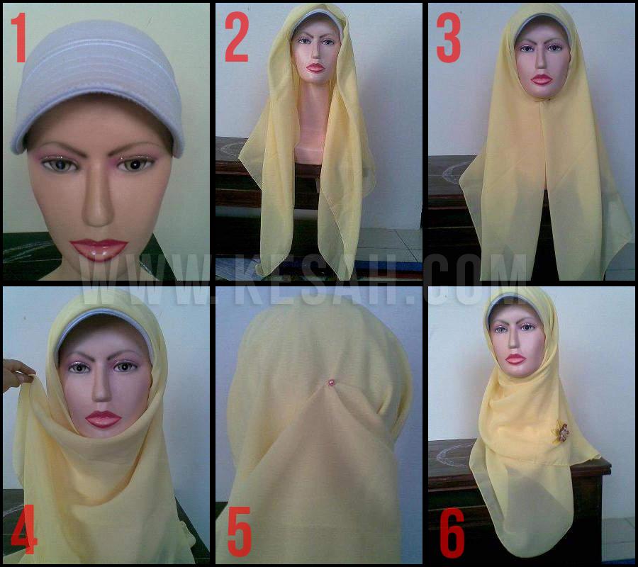 Cara Mudah Memakai Jilbab Segi Empat | Apps Directories