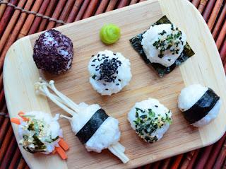 cara membuat sushi sederhana