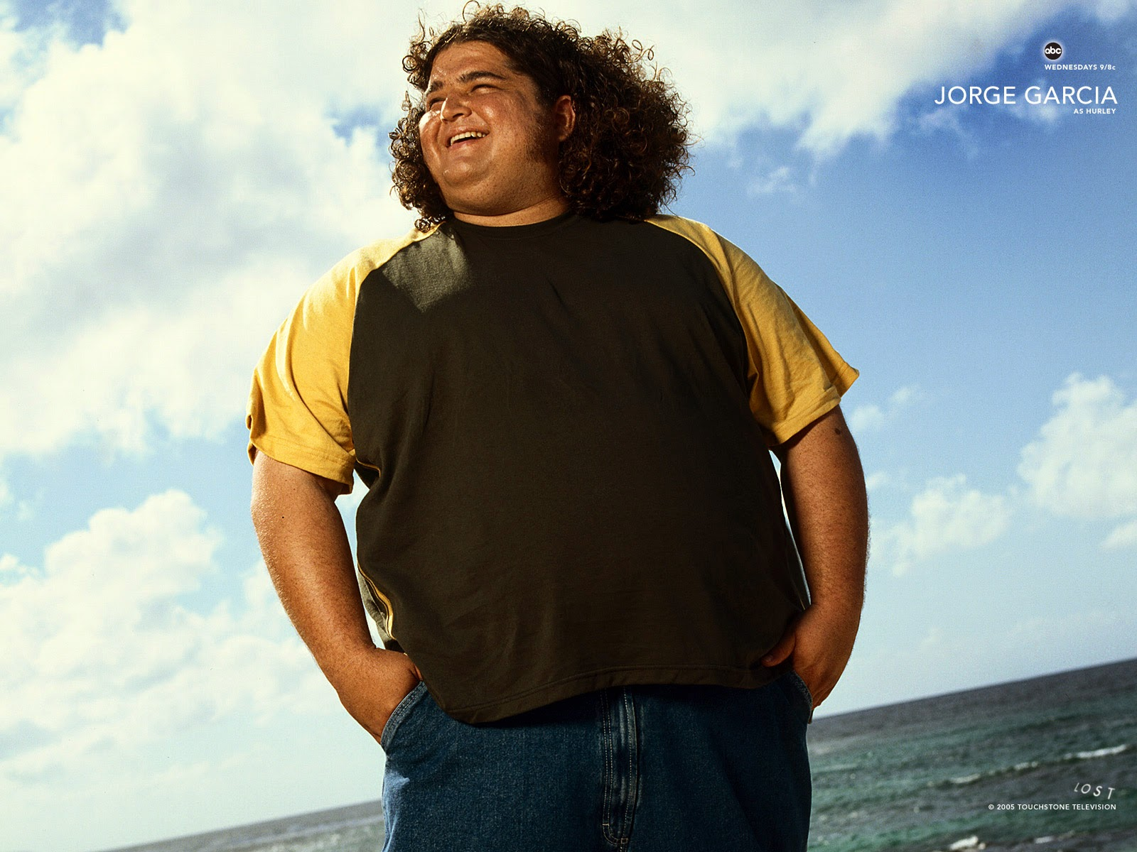 lost Television serial Jorge Garcia Wallpaper