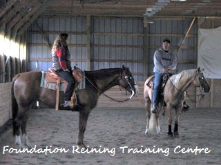 Susan Dahl's Foundation Reining Training Centre
