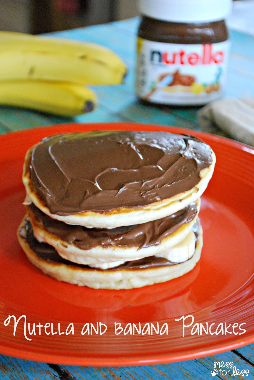 pancakes and it was perfect try these homemade pancakes with nutella ...