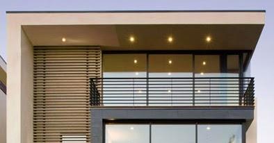 Garasi minimalist modern home.