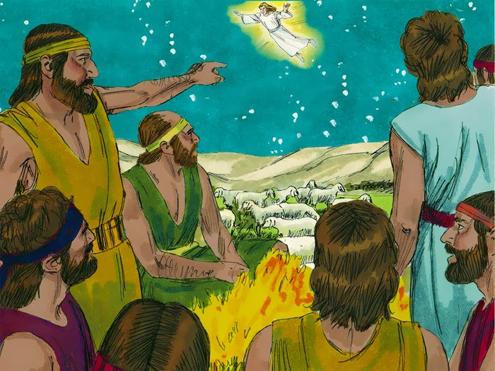 Bible Fun For Kids 41 Birth of Jesus Shepherds Visit – Who Announced the Birth of Jesus