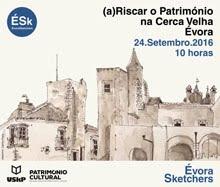 41º Encontro ÉSk | (a)Riscar o Património na Cerca Velha, Évora