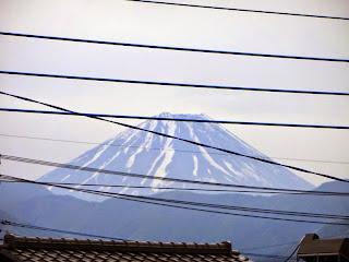 地元から望む富士山