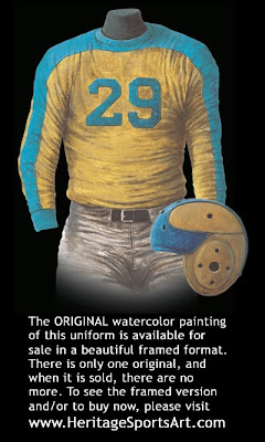 Philadelphia Eagles 1934 uniform