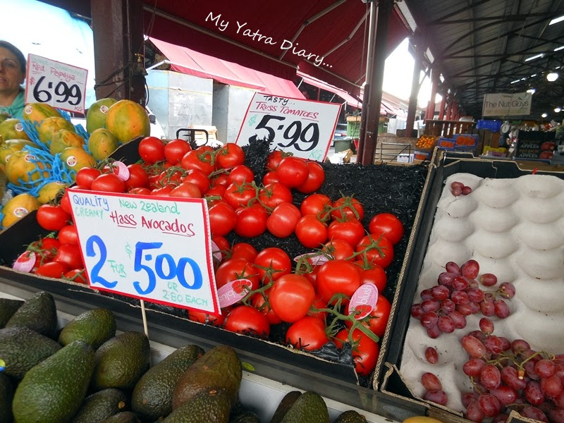 Tomatoes at Queen Victoria Market, Melbourne