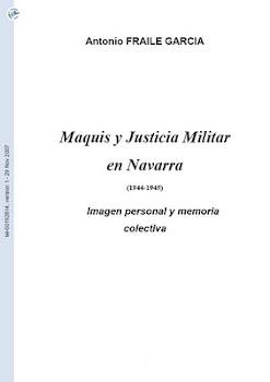 """Descarga """"Maquis y Justicia Militar en Navarra"""""""