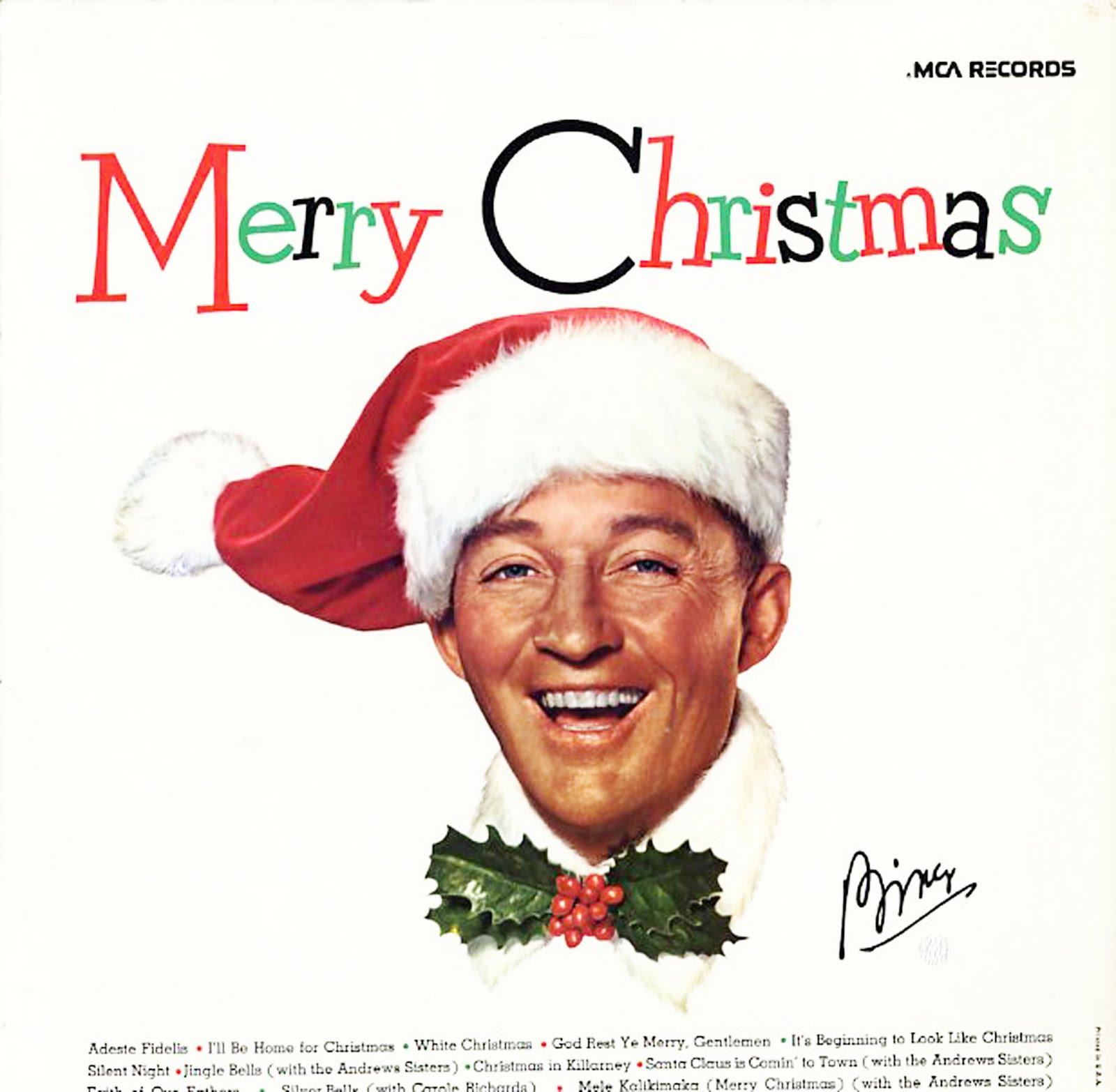 merry christmas bing crosby 1955
