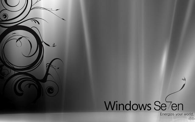 Windows 7 Desktop Wide Screen 3D Wallpaper