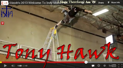 Tony Hawk, welcome to Indy, skateboarding video