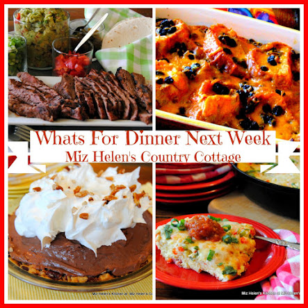 Whats For Dinner Next Week * Week Of 4-30-17