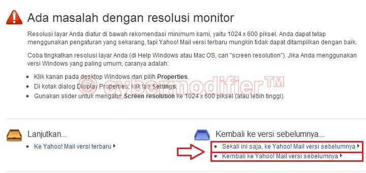 Bukan browser internet dan silahkan mencoba masuk ke akun yahoo ...