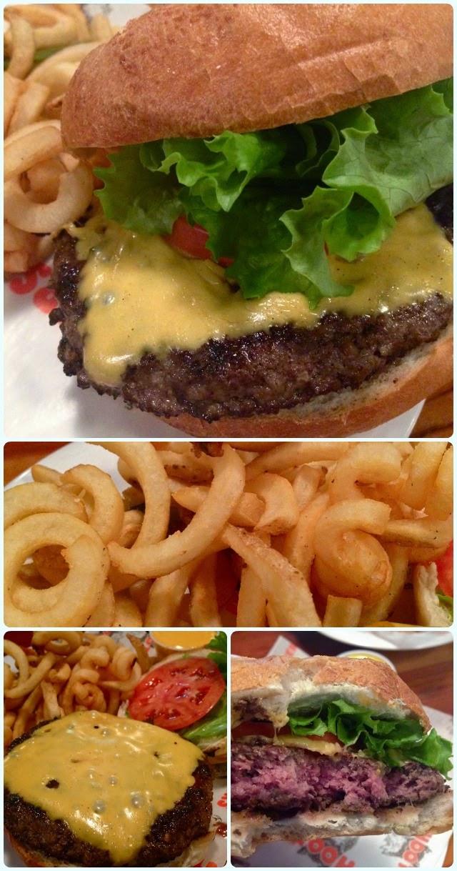 Hooters, New York - Burger