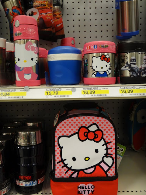 Back to School Promotion: Hello Kitty Kid's Lunch Box, Lunch Bag and Containers