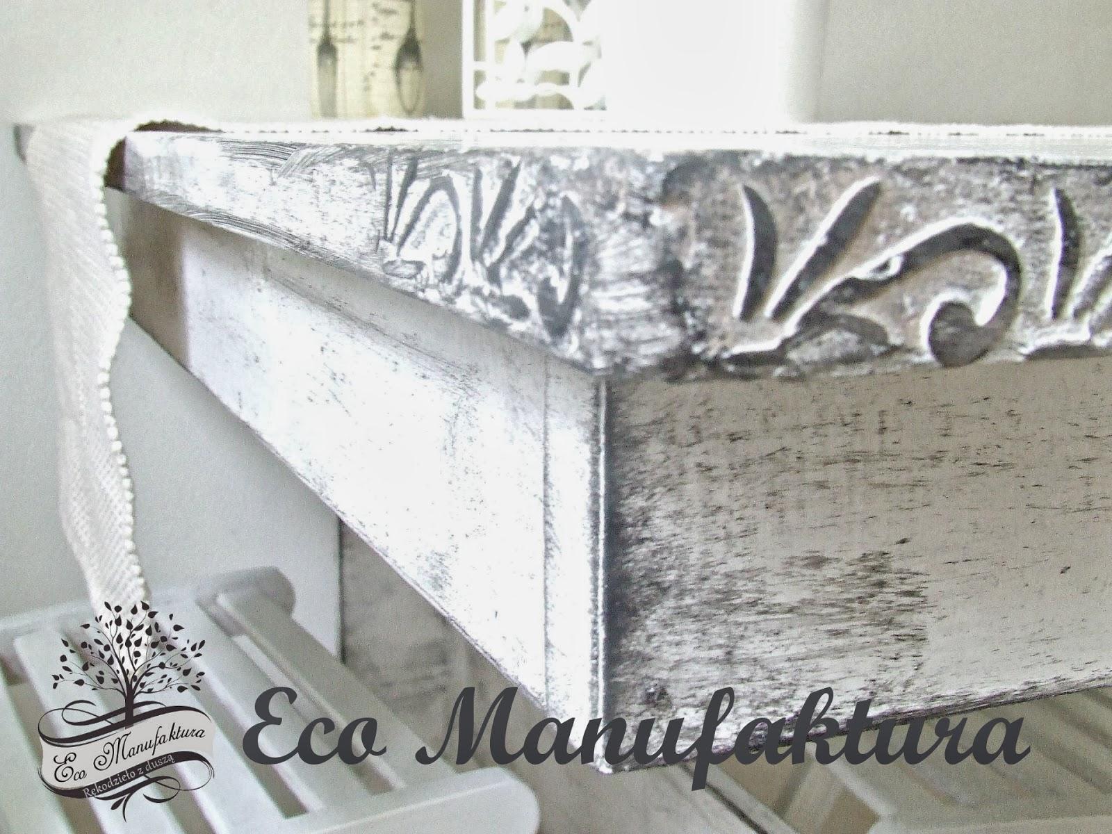 pomysł na stary stół prosty upcycling by Eco manufaktura