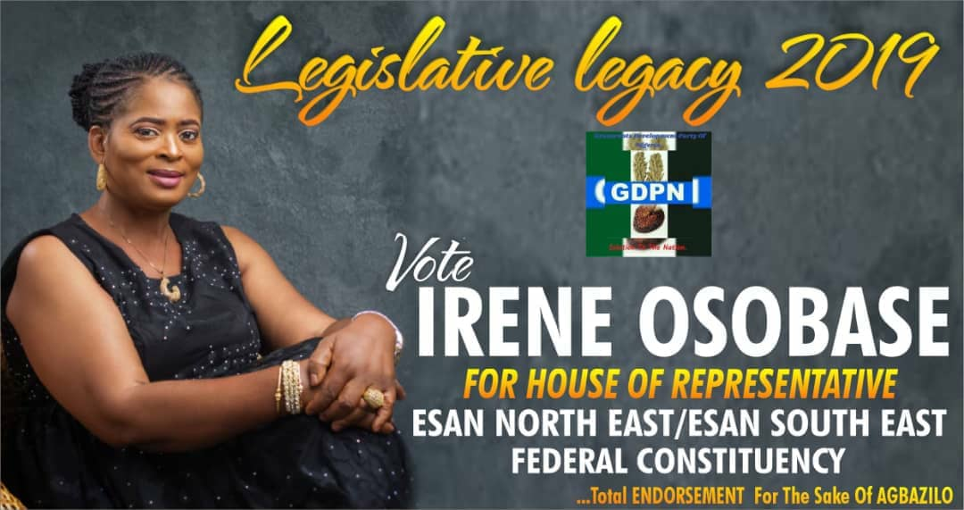 FOR HOUSE OF REPRESENTATIVE