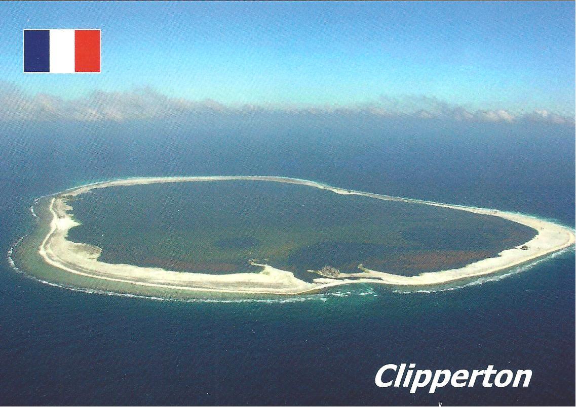 marcophilie daniel  atoll de clipperton