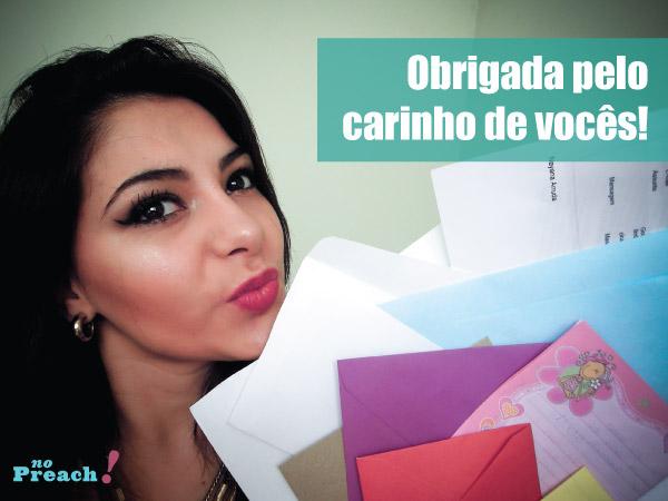 Bárbara Urias - vídeo lendo as cartinhas que recebi dos leitores do blog!