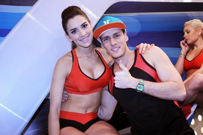 continuación, les mostramos fotos de Korina Rivadeneira en Combate: