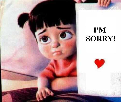 i am sorry images