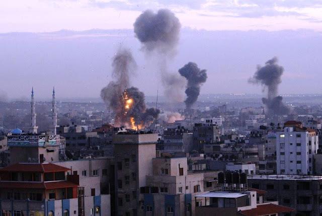 Jet Tempur Israel Kembali Serang Gaza