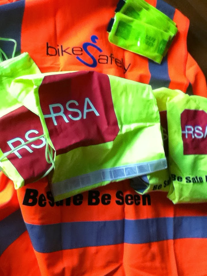 Vests, Armbands, Bags, and Bag Covers from RSA Ireland